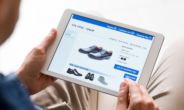 mua hàng online trên web