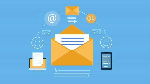 đường liên kết trong email